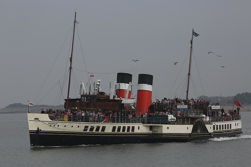 MV 'Waverley' Minehead 6th Sep 2014