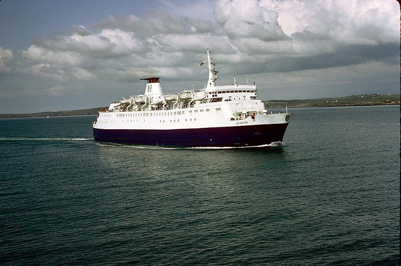 MV 'Leinster' Holyhead 15th May 1983