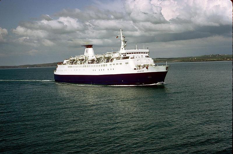 MV 'Leinster' Holyhead 15th May 1983