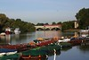 Boats in Richmond with Train and Plane<br /> 23rd September 2016