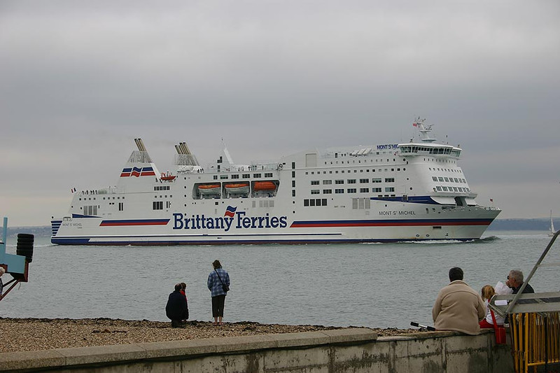 MV 'Mont St Michel' at Southsea 25th July 2005