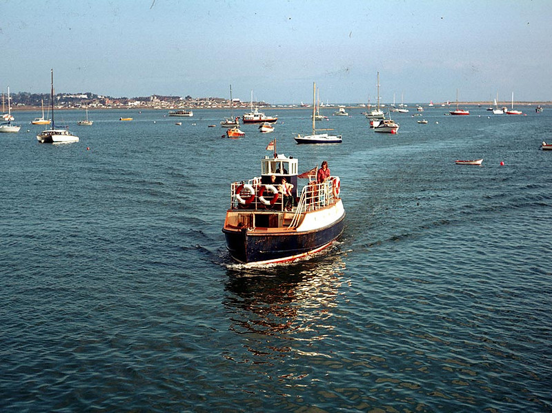 MV 'Orcombe' at Starcross 24th Sep 1978