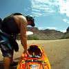 Cataract Canyon of the Colorado River,  August 2016, 6500 cfs, TC in his Kayak,