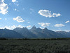 First glimpse of the Tetons, Thursday 8/26