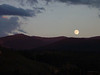 Full moon as seen from Winter Park CO just before departing for Idaho