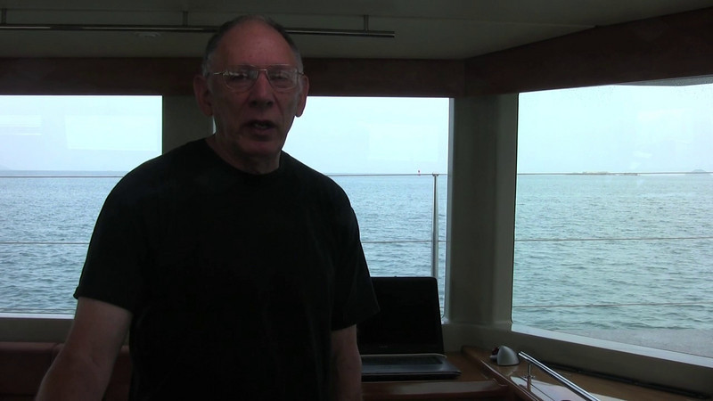 Transiting the Panama Canal, uphill to the Bahamas, and cruising in the Bahama Islands.
