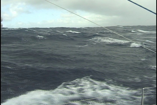 New Zealand to Fiji, the final sea trial for the FPB Series prototype. This passage starts out in a fresh to strong gale, and ends surfing towards Suva, Fiji in lovely southeast tradewinds.