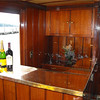 The Polaris has a brass bar.  Lake Geneva Cruise Line offers beverage options to fit any budget or occasion.