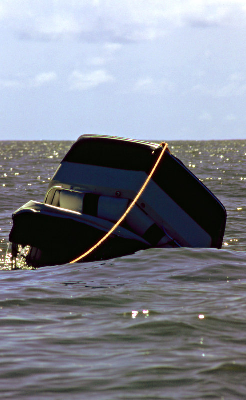 Salvage of Small Boat on Little Cumberland Island Beach<br /> Salvage by TowBoatUS Brunswick