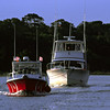 Brunswick  Georgia TowBoatUS Salvage of Mista Jay in Creighton Narrows in the Georgia Intracoastal Waterway