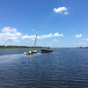 Salvage - Lighthouse Dive Services and TowBoatUS at Condo Dock Golden Isles Marina 07-12-16