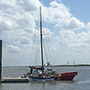 Salvage - Lighthouse Dive Services and TowBoatUS at Condo Dock Golden Isles Marina 07-05-16