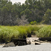 Boat Wreck in Frederica River 07-11-10 Vessel is slowly wasting away