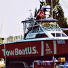 "TowBoatUS Vessel ""Victory"" at Opening of West Marine in Brunswick, Georgia 2003 before she sunk KIA and the salvage"