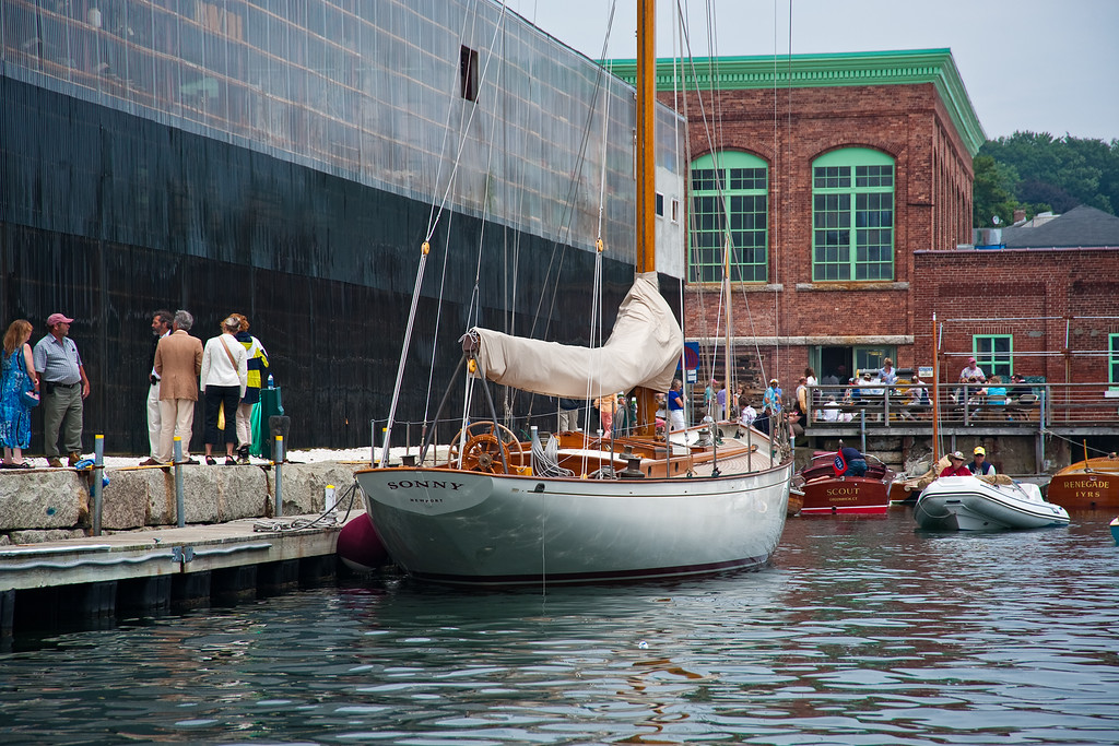 International Yacht Restoration School event, Newport, Rhode Island