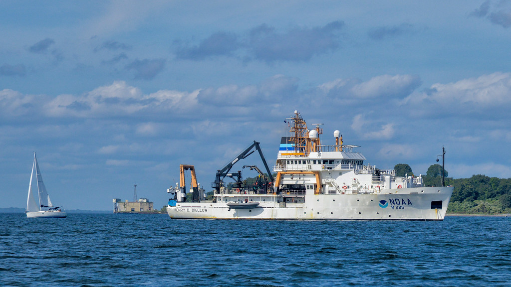 The Henry B. Benson a NOAA research vessel