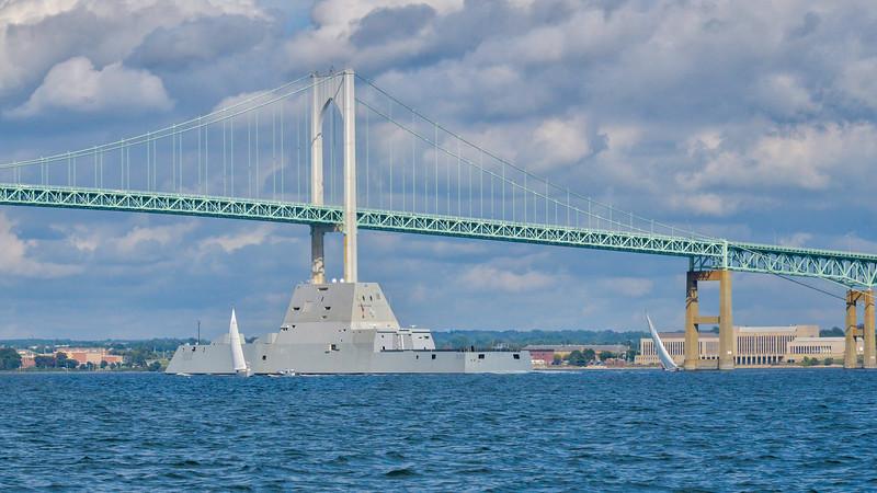 The USS Zumwalt  DDG 1000