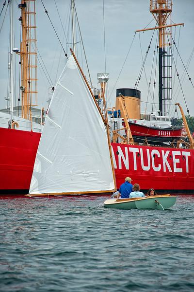 Downwind toward Nantucket