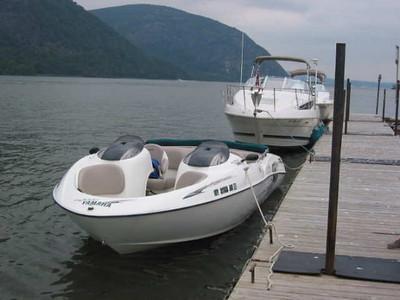 Docked at Cold Spring on Hudson River