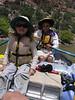 Katya and Neal on the raft