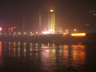 The night we departed from Chong Qing.