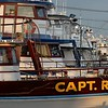 Party and charter fishing boats at Captree
