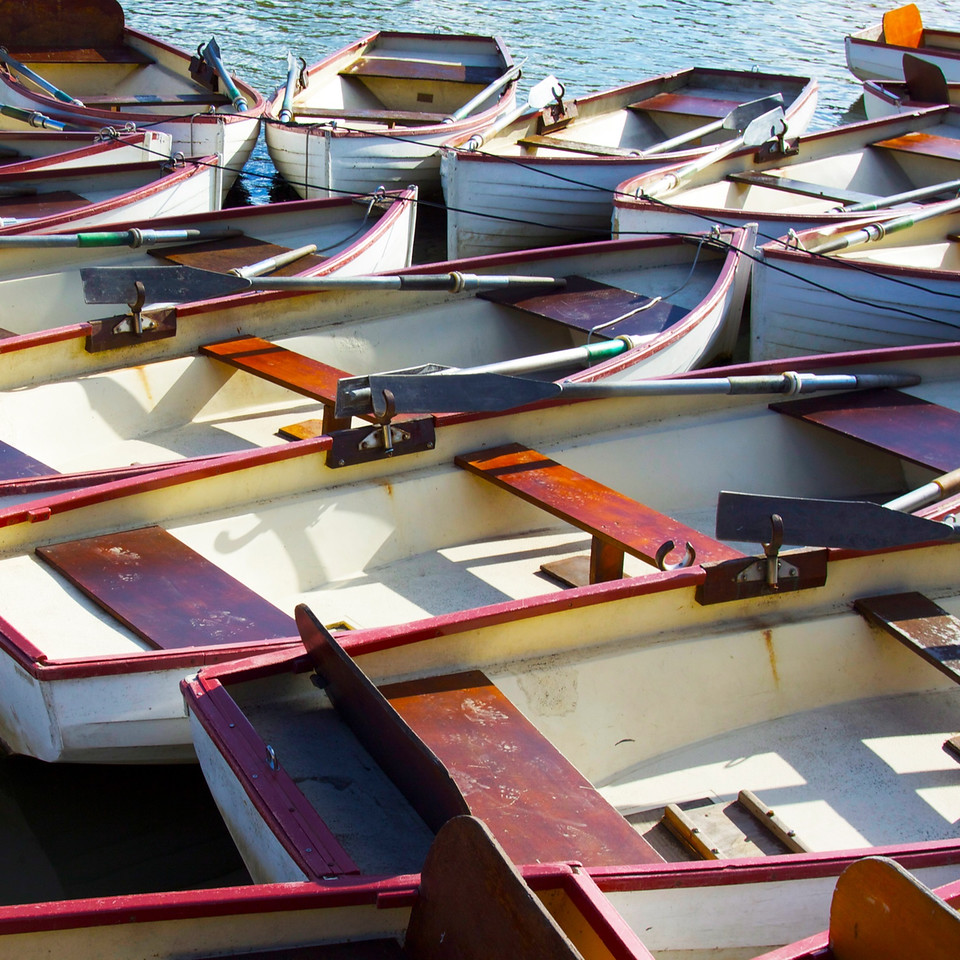 Boats on Versailles