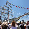 "The Mexican Tall Ship ""Cuauhtémoc,"" arriving at Norfolk's OPSail 2012"