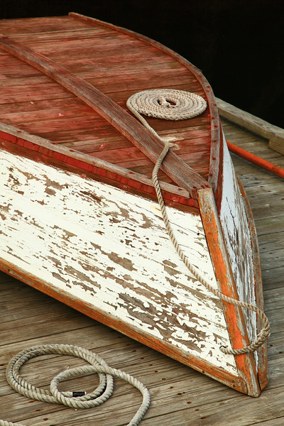 Old Skiff on the doc