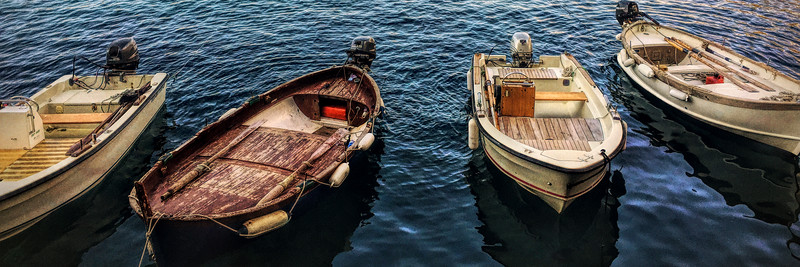 Group of Fishing Boats