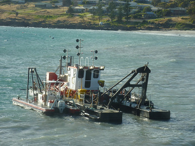 Dredge at Penneshaw