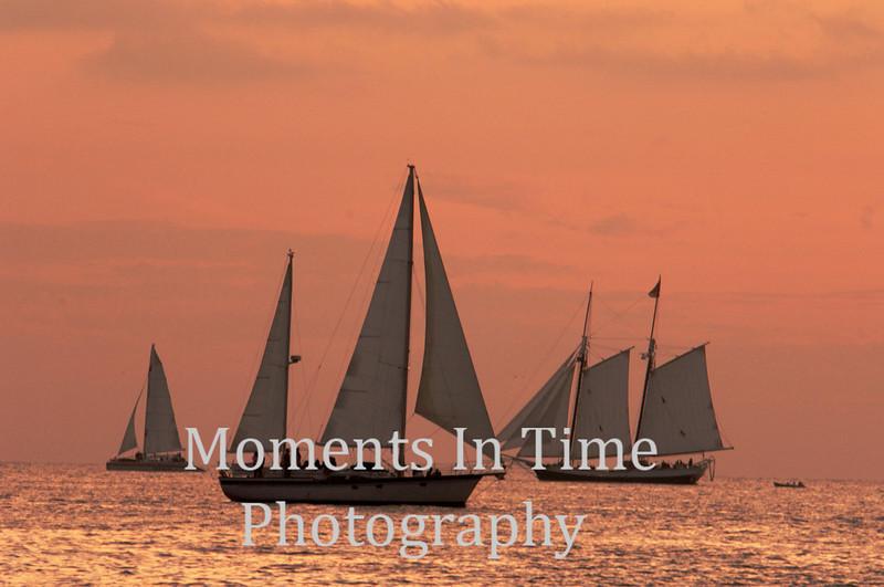 Post sunset sail