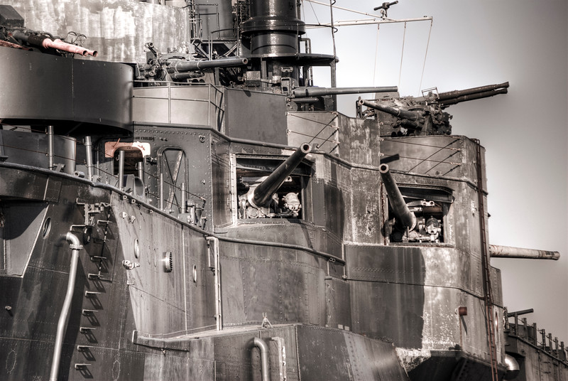 Cannons Of Battleship Texas