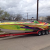 Custom Boat Wrap, Dallas, TX