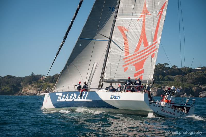 Maserati Sail Plan