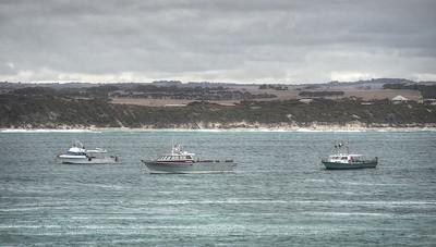 Three Cray Boats