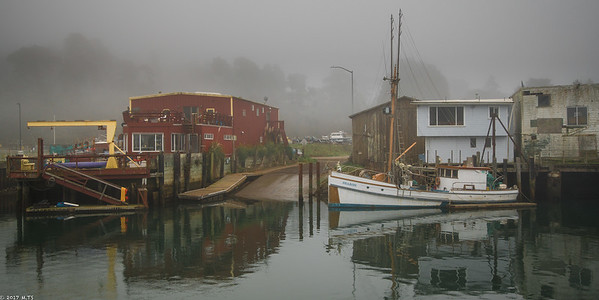 Noyo Harbor in Fort Bragg