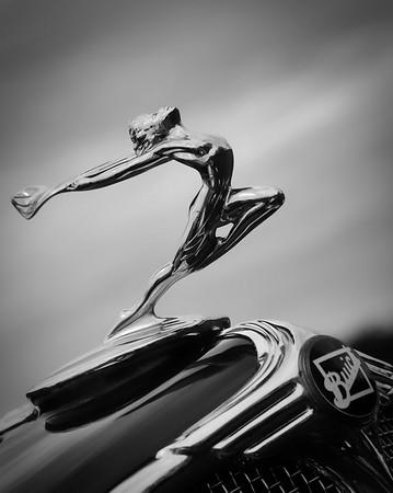 Cantigny Car Show B&W - 2017-09-17