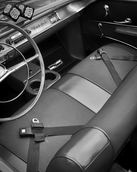 Cantigny Park - Car Show - Black & White - Wheaton, Illinois - Photo Taken: September 17, 2017