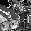 Cantigny Park - Car Show - Black & White - Wheaton, Illinois - Photo Taken: September 17, 2017