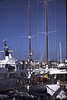 Antibes, October-Nov 1984.<br /> <br /> Scenes in the marina at Antibes.
