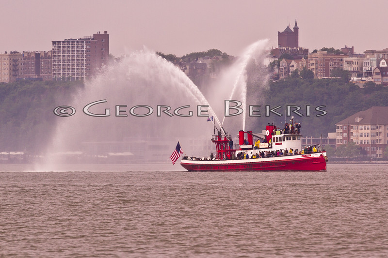 Opsail 2012 New York <br /> NYC Fireboat