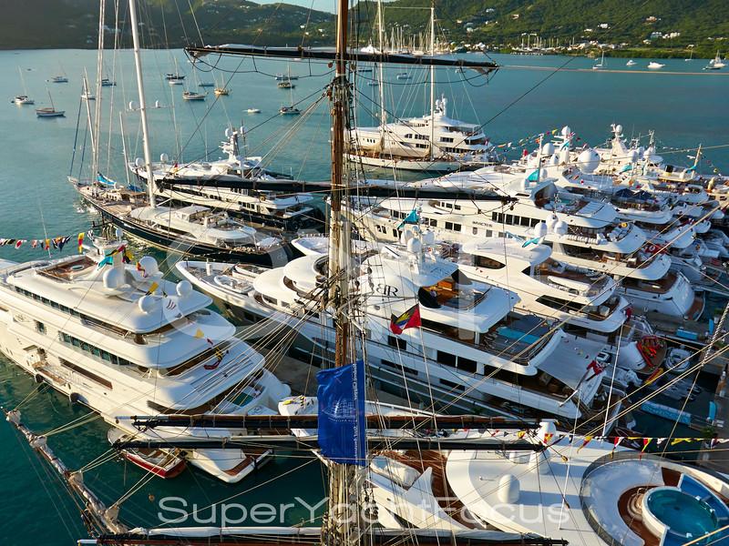 Antigua charter show