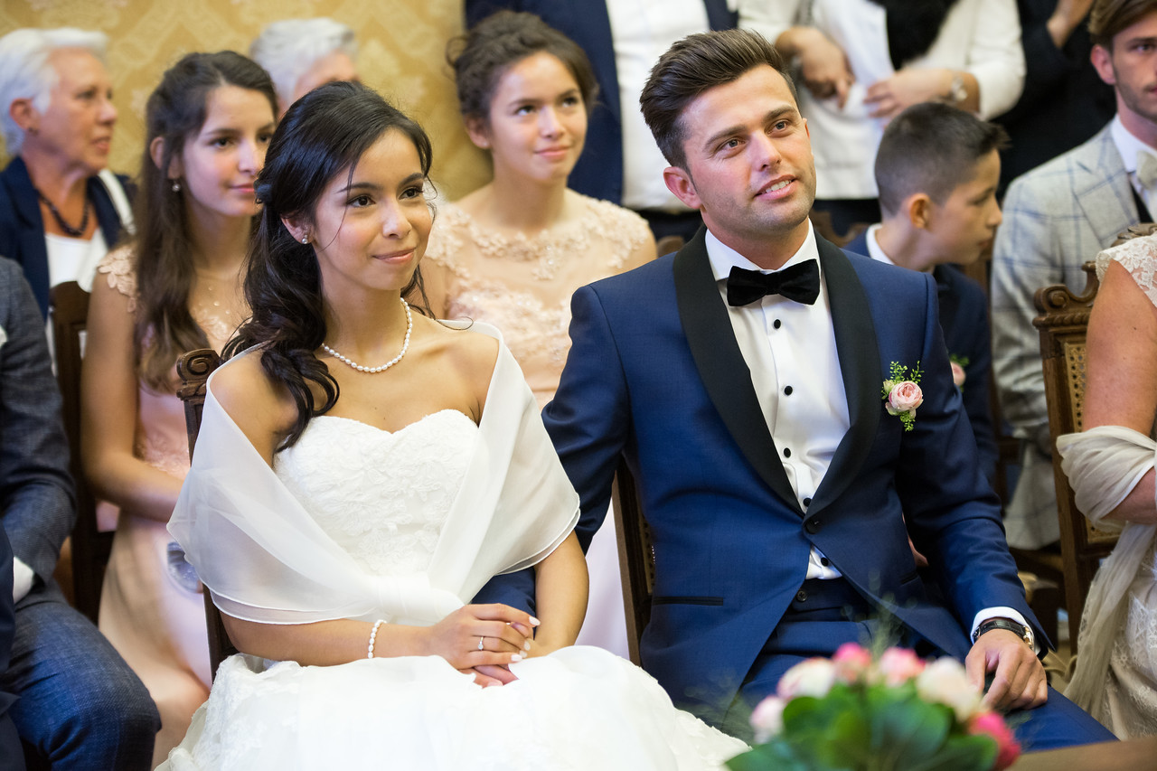 Bruidsreportage van het huwelijk van Boaz en Nathalie