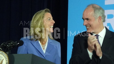 Bob Casey At Hillary Clinton Campaign Rally With Katie McGinty In Wilkes-Barre, PA