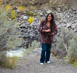 Pari, near the Gardiner River, Yellowstone National Park.