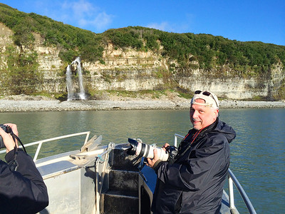 On my way to Duck Island to photograph Puffins in Lake Clark National Park, Alaska