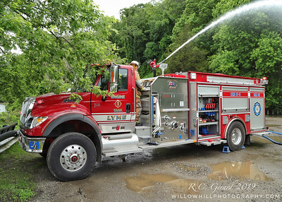 Tanker Shuttle Drill - East Haddam, CT - 6/21/19