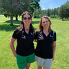 Tournament co-founders, the beautiful Brown sisters, Susan Sullivan of Holden and Sandy Rega of Chelmsford