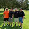 From left, Leon Constantine of Tyngsboro, Pat Graham of Hampton, N.H., Mike Brown of Pelham and tournament co-founder Bob Brown Jr., of Chelmsford